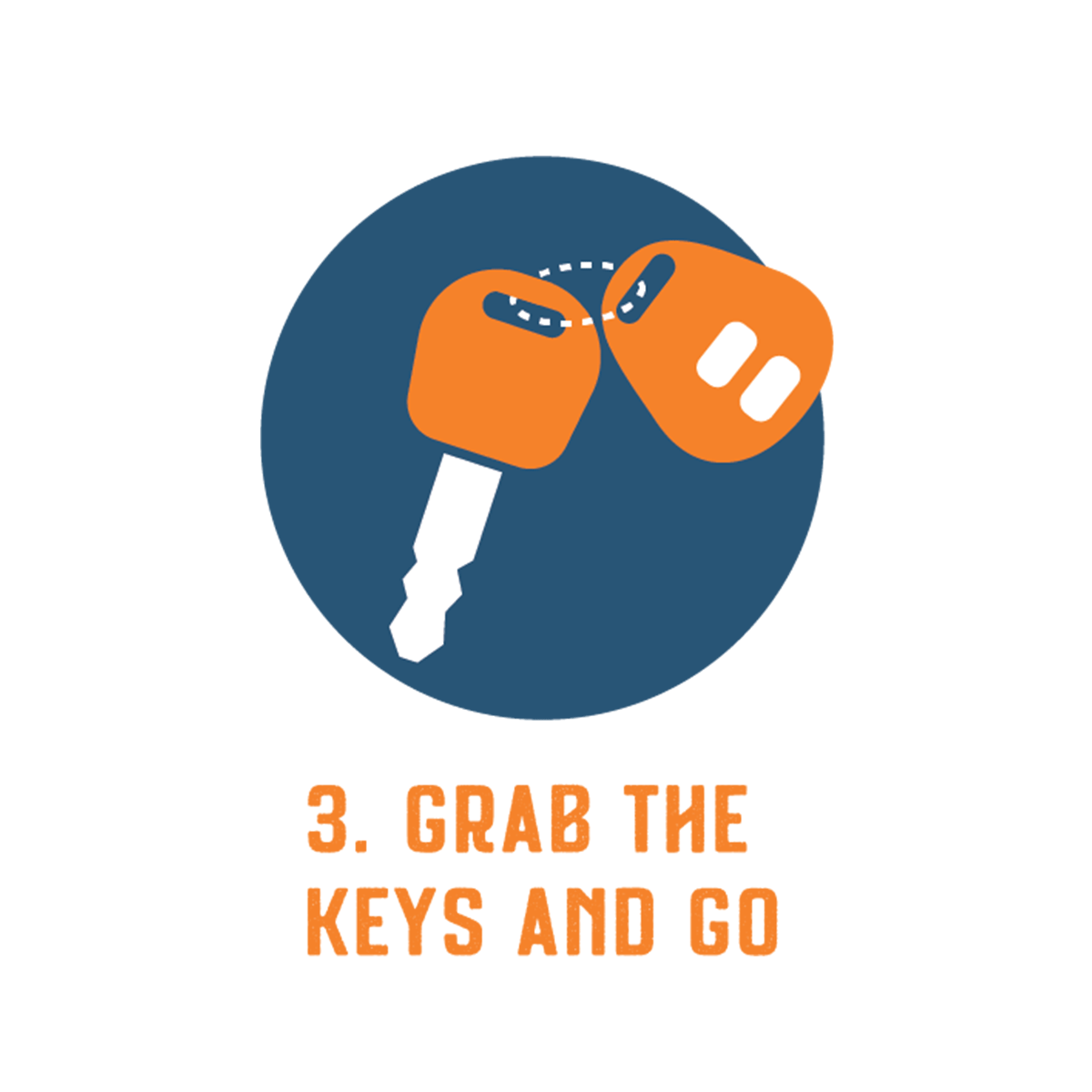 Grab the keys icon